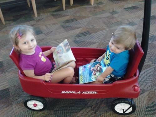 Hospital Wagon Ride