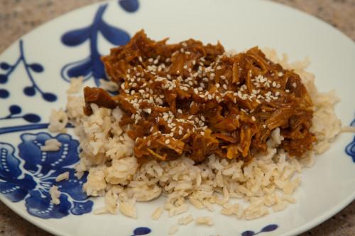 Crock Pot Terriyaki Chicken