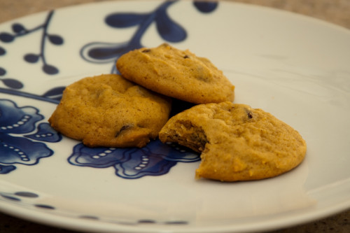 Pumpkin Chocolate Chip Cookies 3